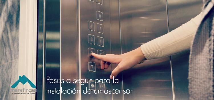 Instalar ascensor en comunidad vecinos