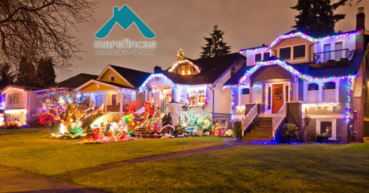 navidad en comunidad de vecinos